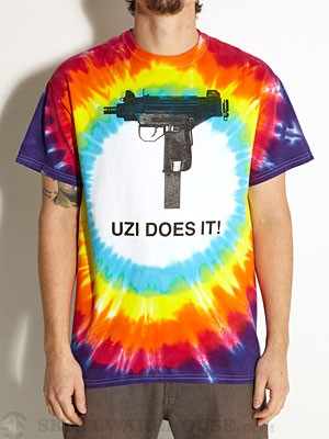 Skate Mental Uzi Does It Tie Dye Tee Multi SM