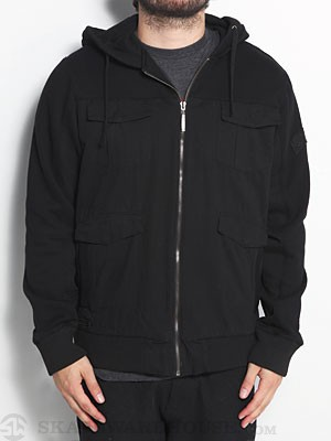 SUPERbrand Brigade Fleece Jacket Black MD