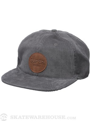 SUPERbrand Carrier Hat Charcoal Adjust