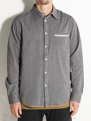 SUPERbrand Dapper Woven Shirt Black MD