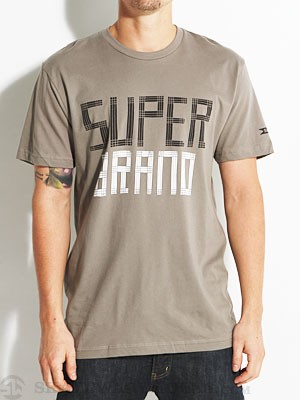SUPERbrand French Premium Tee Grey SM
