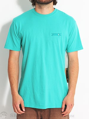 SUPERbrand New Banner Tee Pool Blue MD