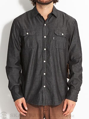 SUPERbrand Sundance Woven Shirt Black MD