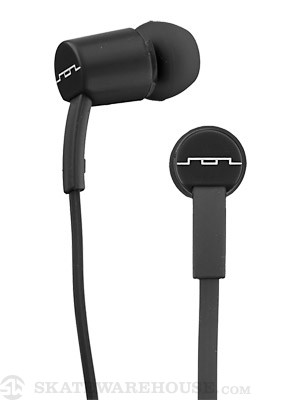 SOL REPUBLIC Jax Single Button Earbuds Black