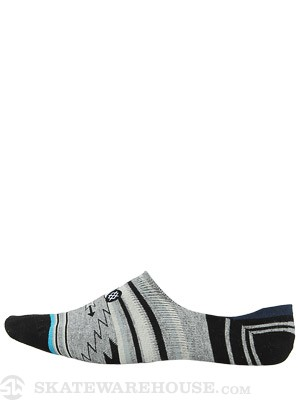 Stance Belen Super Invisible Socks Grey Heather