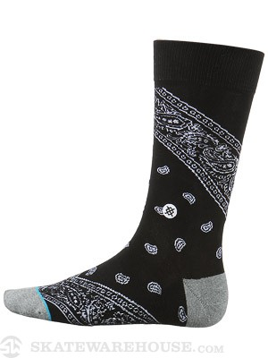 Stance Barrio Socks Black