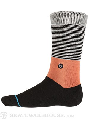 Stance Black Top Socks  Black