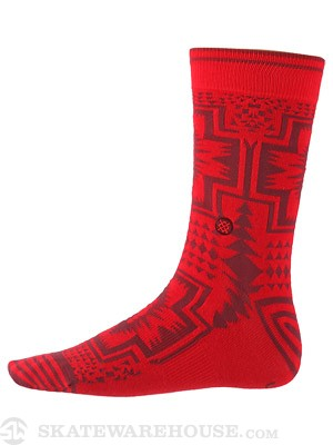 Stance Clovis Socks  Red