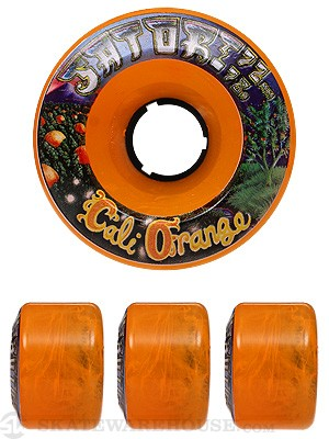 Satori Cali Orange Goo Ball 78a Wheels