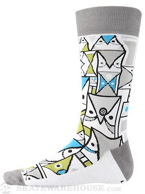 Stance Don P Socks  Grey