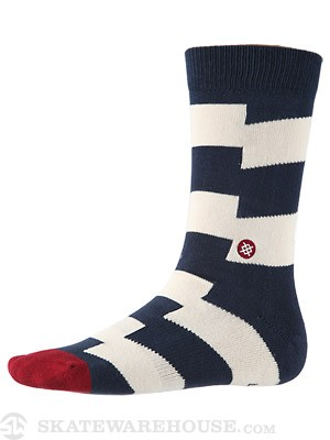 Stance Dead Sea Socks  Navy