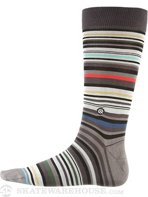 Stance Hyde Socks  Grey
