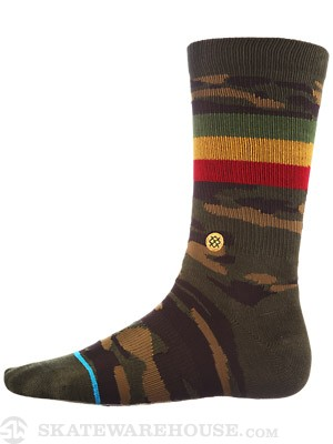 Stance Liberation Socks  Green