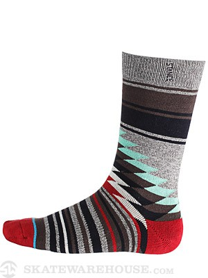 Stance Laredo Socks Grey Heather