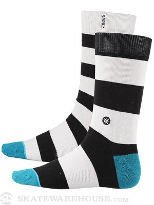 Stance Mix Match Mariner Socks  Black