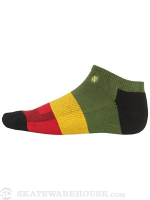 Stance Lowriders Maytal Low Socks  Rasta