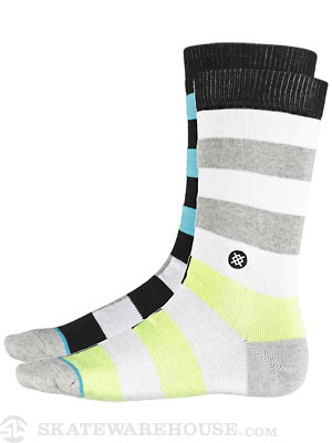 Stance Mason Socks  White