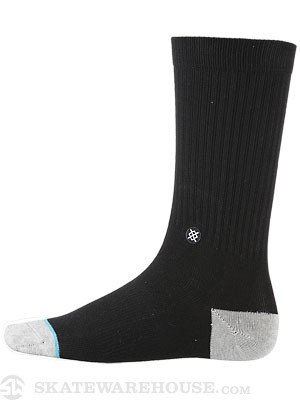 Stance Everyday Athletic Prime Socks  Black