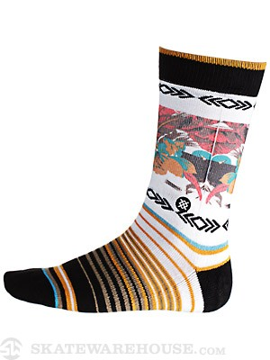 Stance Pidgin Socks Off White