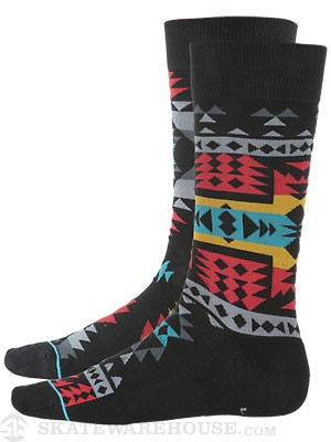 Stance The Reserve Reservation Socks  Black