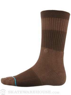 Stance Spectrum Socks  Brown