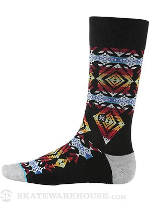 Stance The Reserve Sunchild Sock  Black