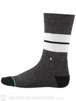 Stance Everyday Casual Sequoia Socks  Black