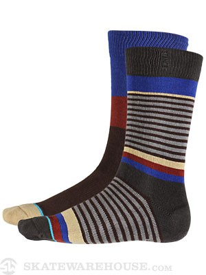 Stance Slowlane Socks  Brown