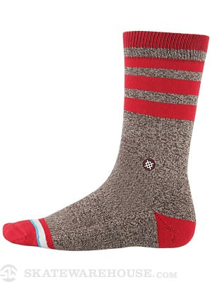 Stance Everyday Casual Sock Monkey Socks  Brown