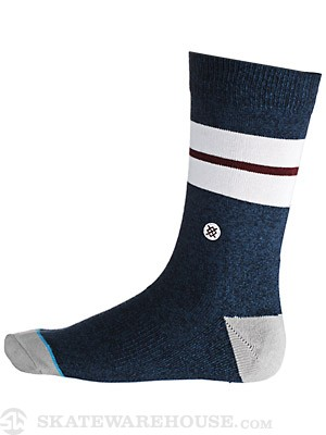 Stance Sequoia Socks Navy