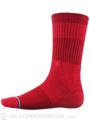 Stance Spectrum Socks  Red