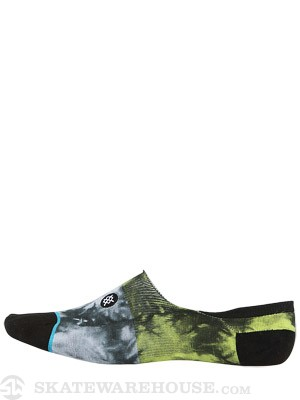 Stance Split Tie Super Invisible Socks Green