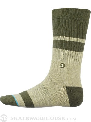 Stance Summit Socks  Green