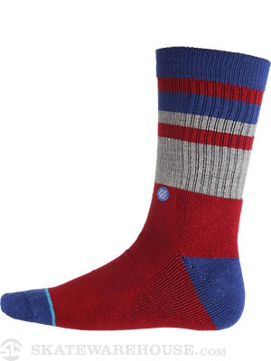 Stance Switchback Socks  Red
