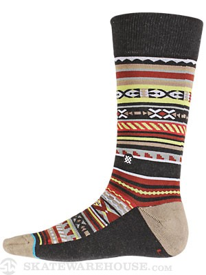 Stance Vista Socks  Red
