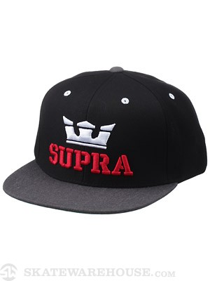 Supra Above Starter Hat Black/Charcoal