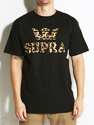Supra Above Tee Black/Cheetah SM
