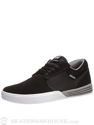Supra Greco Hammer Shoes  Black/Grey
