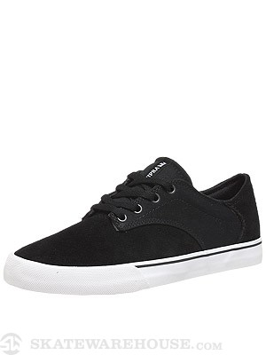 Supra Pistol Shoes Black/White