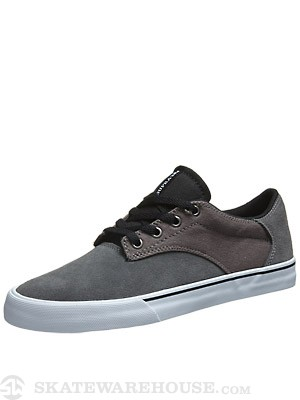 Supra Pistol Shoes  Charcoal/Black/White