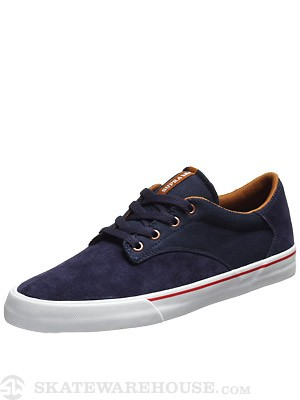 Supra Pistol Shoes  Navy/Copper/White