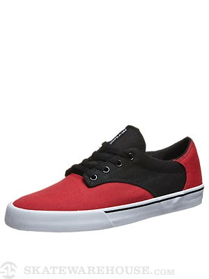 Supra Pistol Shoes  Red/Black
