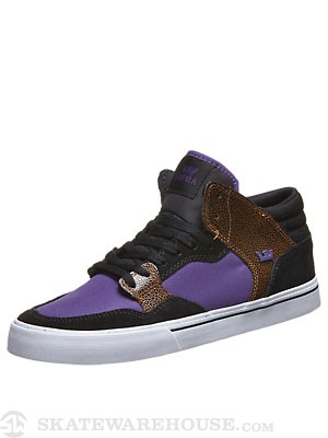 Supra x Keelan Dadd Shotgun Shoes  Black/Purple