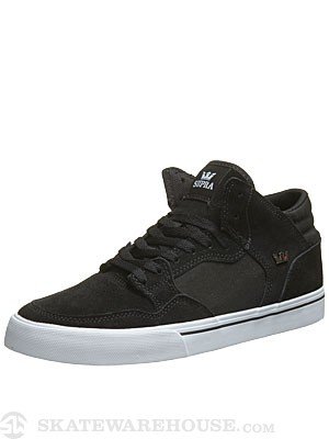 Supra Shotgun Shoes  Black/Black/White
