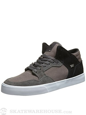 Supra Shotgun Shoes  Grey/Black/White