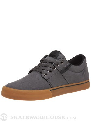 Supra Stacks Vulc Shoes Charcoal/Black/Gum