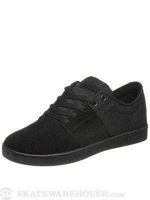 Supra Stacks Low Shoes Black/Black
