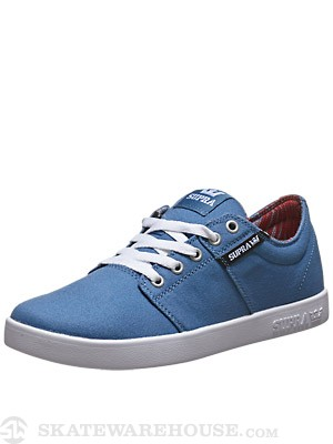 Supra Stacks II Shoes Stone Blue/Black/White
