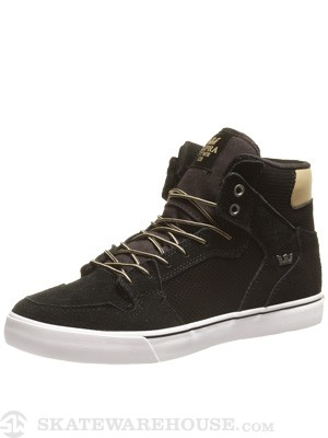 Supra Vaider Shoes  Black/Cornstalk
