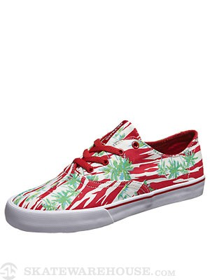 Supra Wrap Shoes  Hawaiian Red Print